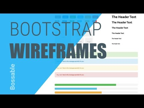 Bossable.com: Design your Web Apps with Bootstrap Wireframes