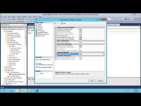 SQL Server Replication - Part 4