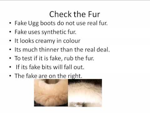Ugg Boots-Don't get scammed