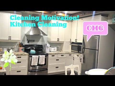 Morning Cleaning Routine! Kitchen Cleaning Motivation! Organize!