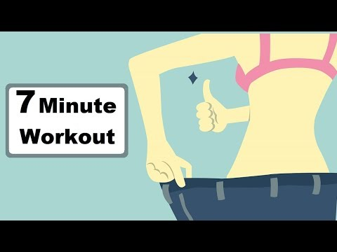 DO THIS 7 MINUTE WORKOUT EVERY MORNING TO LOSE BELLY FAT AT HOME