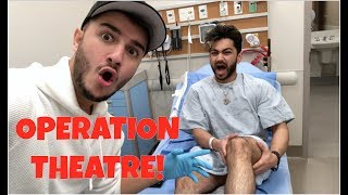 VLOGGING in the OPERATION THEATRE! *I saw a surgery LIVE*
