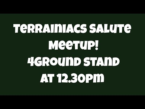 Salute Meetup - 12.30pm @ 4Ground Stand