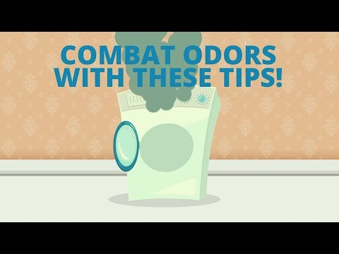 Use & Care Tips: Cleaning Tips for Front-Load Washer Odors