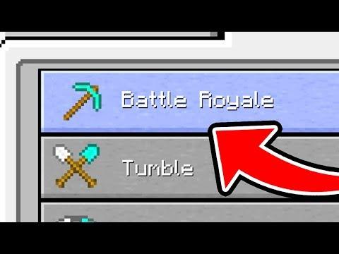 Minecraft: Battle ROYALE GAMEMODE MINIGAME! (Ps3/Xbox360/PS4/XboxOne/WiiU)
