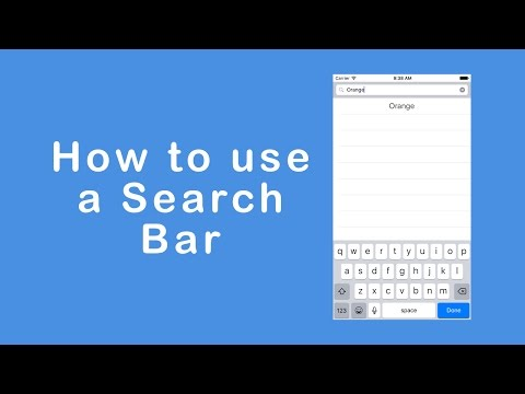 Making a Search Bar to Search Words in a TableView (Swift 3)