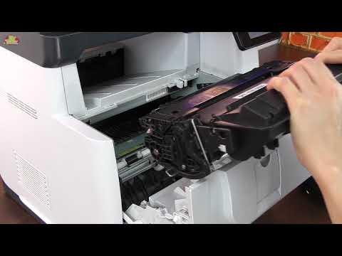 Drukarka HP LaserJet Pro MFP M521 dn - jak wymienić toner I DrTusz.pl