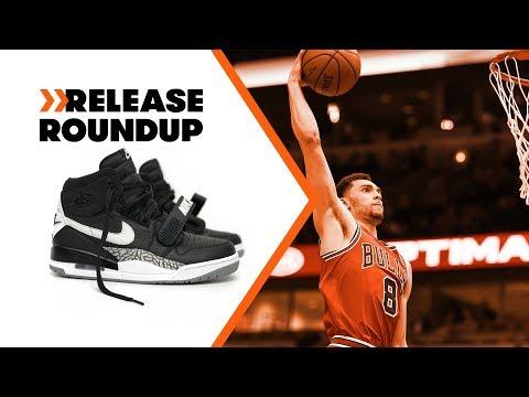 Don C Making Jordan Hybrids Hot? + Zach LaVine Talks Slam Dunk Exclusive Sneakers | Release Roundup