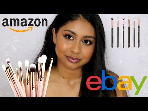 Cheap Ebay/Amazon Makeup Brushes | Zoeva & MAC Dupes