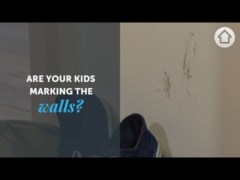 DIY Hacks - Cleaning Wall Marks