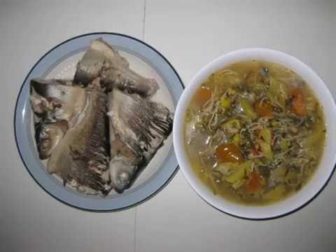 Hot & Sour Soup - Canh Chua Cá Chẽm (milkfish,tomatoes,sprouts,pineapple,herbs,vegetables)
