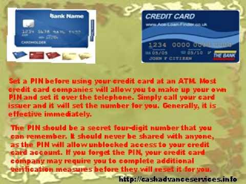 How to Get a Cash Advance Through an ATM?