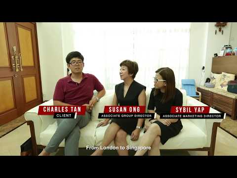 Singapore Client Testimonial For Property Agent Video - Charles