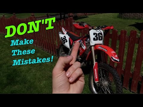 BEST Tips for buying a USED Dirt Bike!