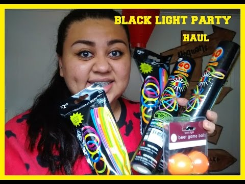 BLACK LIGHT PARTY HAUL | AyeCandyy