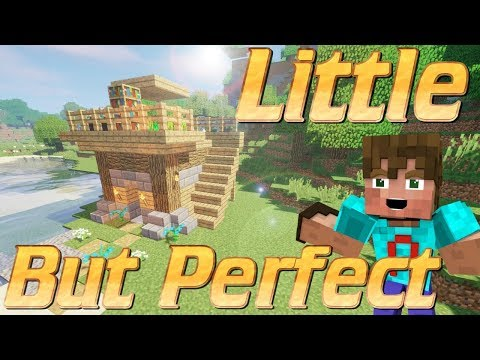 Minecraft   How to make a 5x5 House in Minecraft   Minecraft House   Easy Minecraft Rustic House