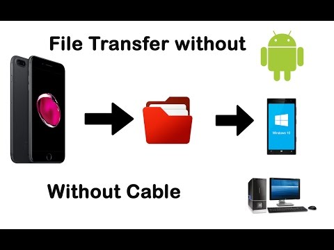 File Share From iPhone To Desktop