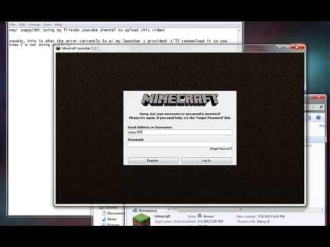 Minecraft launcher 1.1.1 fix!
