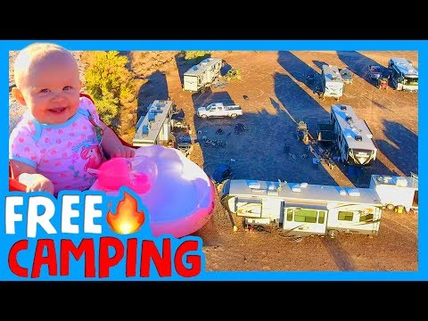 ⛺️ BEST PLACE TO BOONDOCK YOUR RV FOR FREE 💵 Quartzsite RV YouTube Meetup 🏜