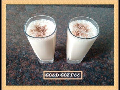 Cold Coffee Recipe | Cold Coffee (Iced Coffee) | Cold Coffee with Ice - Cream