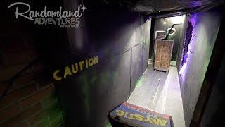 This kid built a Dark Ride in his HOUSE! Mystic Motel DIY Haunt at Halloween!