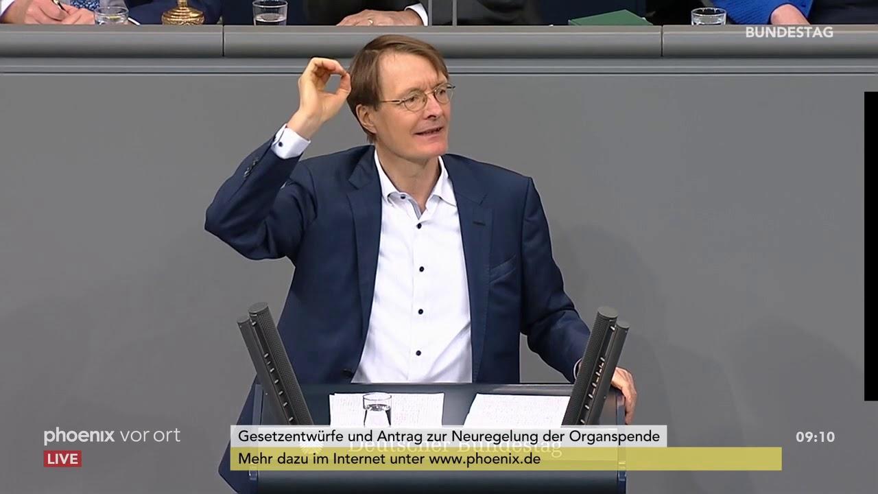 Organspende: Bundestagsdebatte am 16.01.20