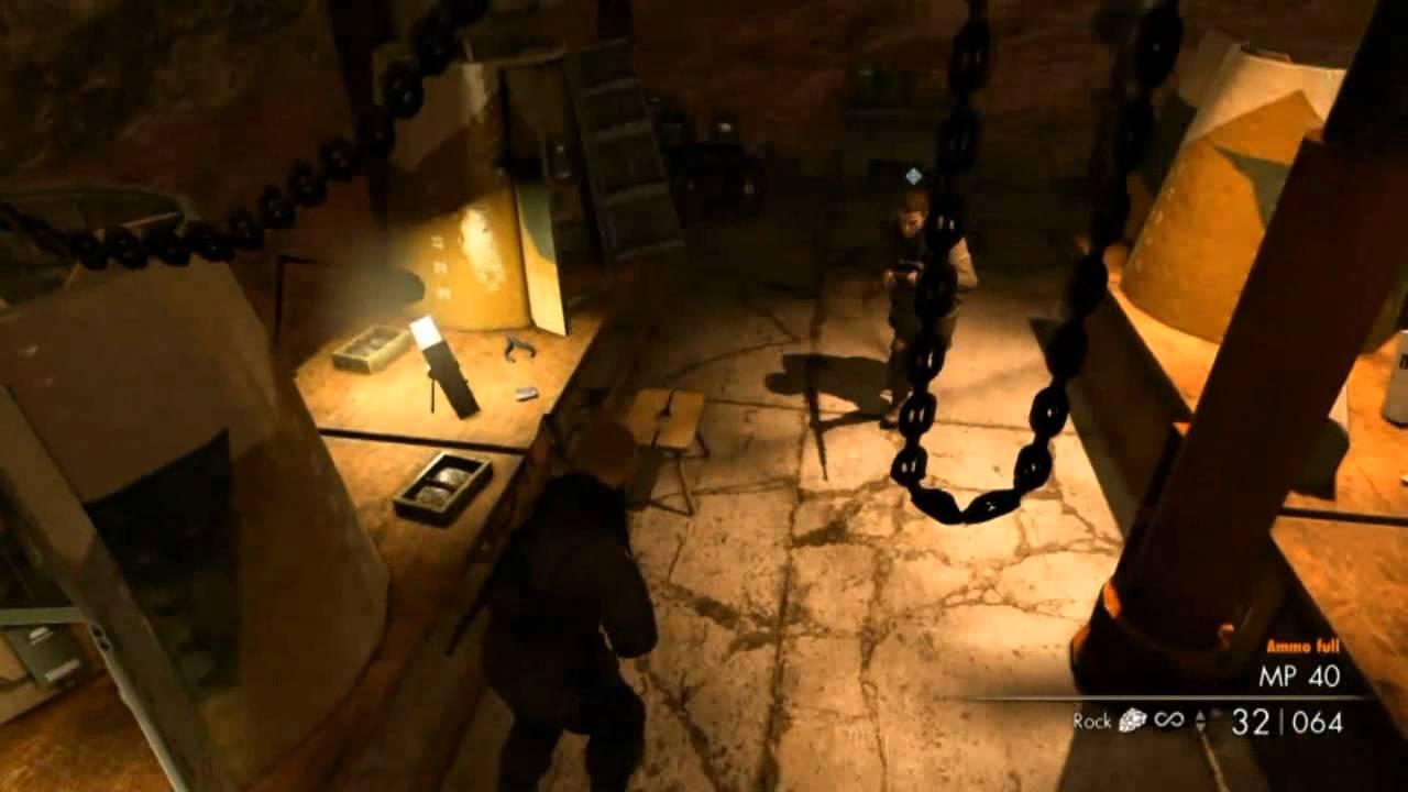 Lets Play:Sniper Elite V2 COOP Episode 1PT2(By dima0301 and Reaper Von Pootis)