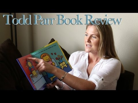 Emma Jenner & The 'I Love You' book, by Todd Parr