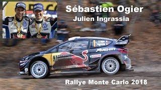 Rallye Monte Carlo 2018 WRC Seb Ogier