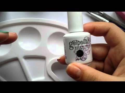 Nail hack: mixing gel with regular polish!!!