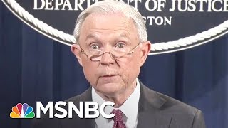Intercepted Intel: Sessions Discussed Donald Trump Campaign With Russian   The Last Word   MSNBC