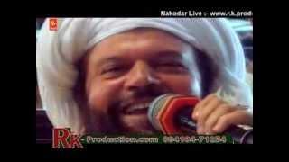 SUNNY SALEEM WITH PADAM SHRI HANS RAJ HANS JI LIVE AT BAPU LAL BADSHAH DARBAR 2013