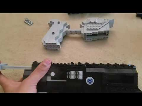 How to make my lego Rifle!!!!! (Part 9) Final part