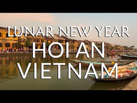 Foreigner celebrates TET (Lunar New Year), in HOI AN! | Vietnam Travel Vlog