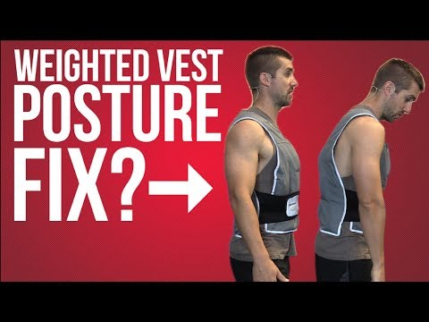 Weighted Vest Walking - EASY Way to Improve Posture