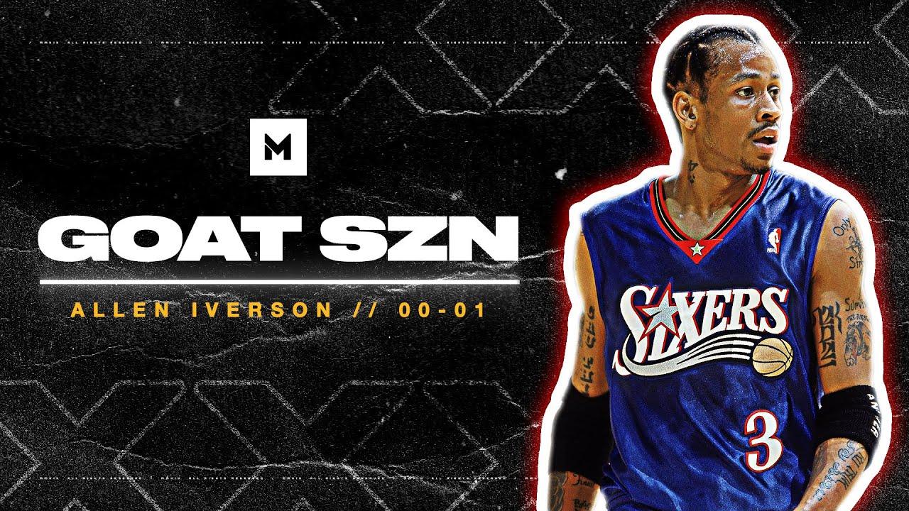 Allen Iverson 2000-01 MVP Season Highlights - THE ANSWER!   GOAT SZN
