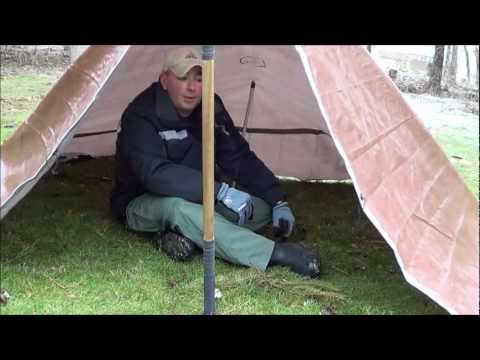 Simple Shelters 3: Tarp Tent