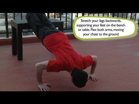 How to Do an Incline Bench Press : Exercises in the House