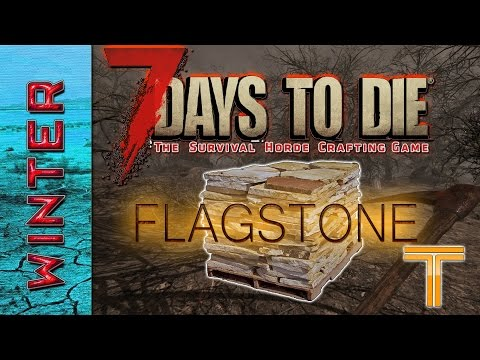 7 Days To Die Alpha 15 Tutorial - How to make the best building block for beginners