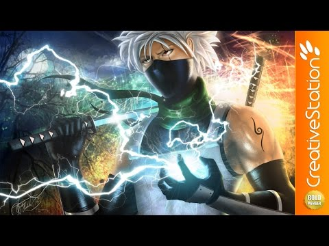 Kakashi Hatake (Naruto) - Speed Painting (#Photoshop) | CreativeStation GM