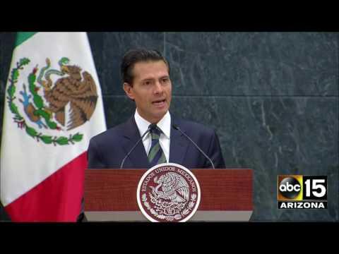 FULL: Donald Trump & President Enrique Peña Nieto in Mexico - I call you a friend.