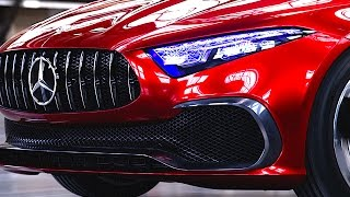 New Mercedes UV Headlamps 2018 New Mercedes C Class 2018 Concept Headights CARJAM