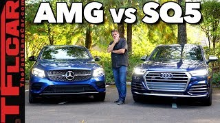 Which Car Is Best? 2018 Audi SQ5 vs Mercedes-AMG GLC43 Review
