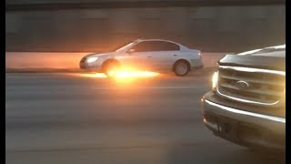 Driving While On Fire