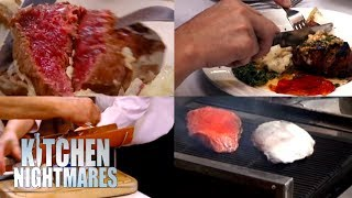 The WORST Steaks Served On Kitchen Nightmares