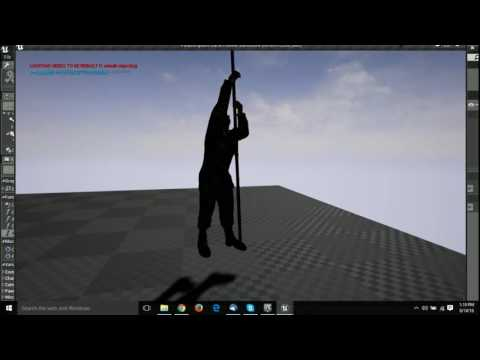 Climb Rope Functioning With Physics