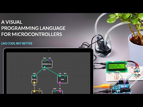 01# Arduino Visual Programming | Activate an LED in 3 steps with using XOD