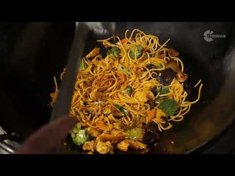 How to make authentic Chicken Noodles | Flavourly
