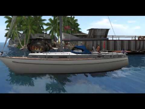 Second Life: Sailing in SL