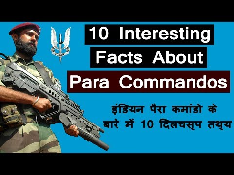 Indian Para Commandos | Facts about Indian  Para Special Forces